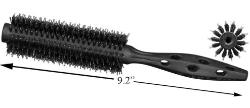 YS Park Black Carbon Tiger Brush 490