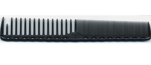 YS Park Extra Long  Round Tooth Quick Cutting Comb 332