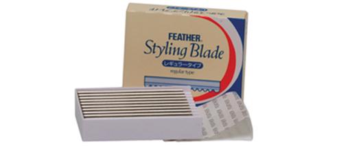 FEATHER (standard) RAZOR BLADES
